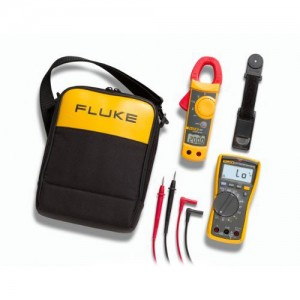 Fluke 117/322 мультиметр цифровой + токовые клещи Fluke 322