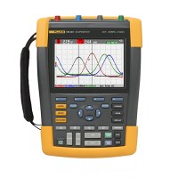 Fluke 190-204 серия II цветной осциллограф, 4 канала, 200 МГц