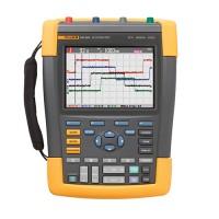 Fluke 190-504 серия II цветной портативный осциллогрф-мультиметр, 4 канала, 500МГц